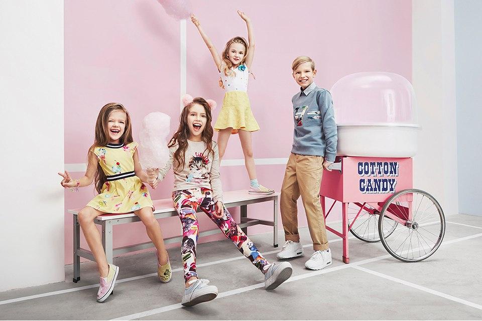 Acoola Kids Campaign by Evgenia Voronova Евгения Воронова