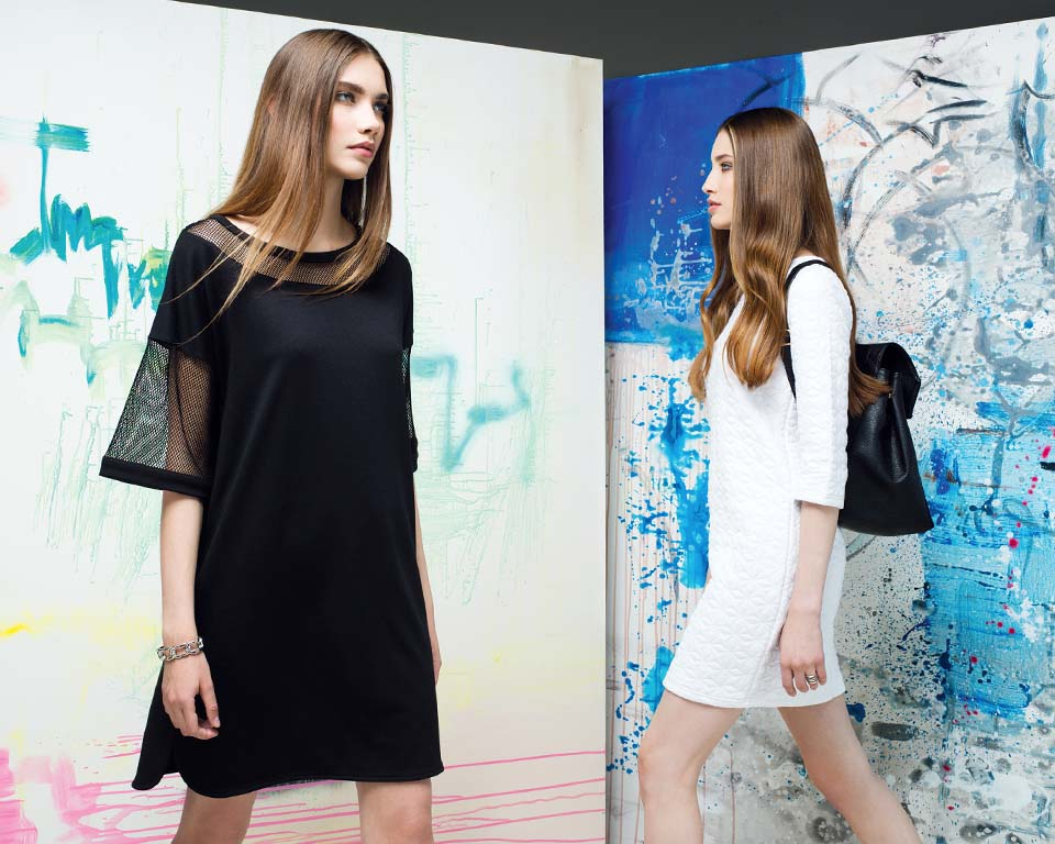 Concept Club Campaign FW 14 by Fedor Bitkov with Karina Istomina and Tatiana Smirnova art by Katya Krasnaya