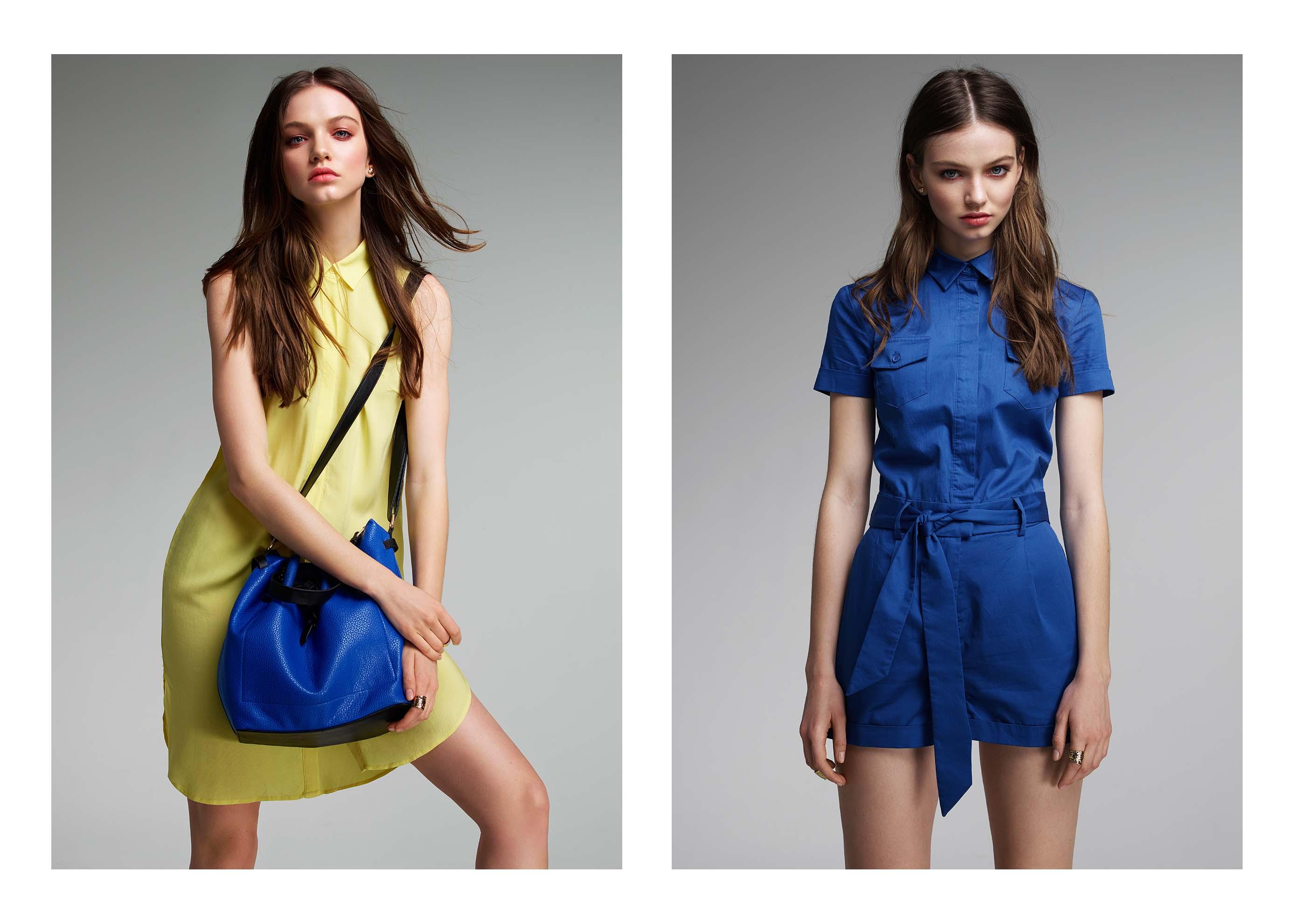 ЕВГЕНИЯ ВОРОНОВА – Concept Club Lookbook SS'15 Daria Sergeeva Avant models – EVGENIA VORONOVA